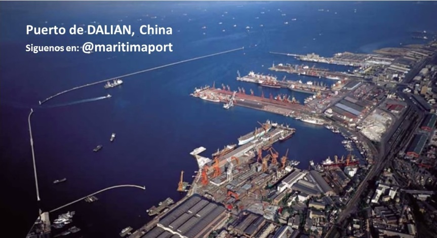 puerto de Dalian, China