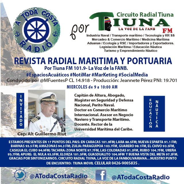 #Publicidad a toda costa radio guillermo Riut
